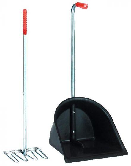 Hofman Gülle Sammelbehälter + Rechen 75cm