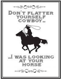 QHP Textzeichen 'Cowboy'
