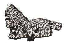 Harrys Horse Fliegendecke Zebra