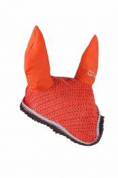 QHP  Ohr Haube color Hot Coral Cob