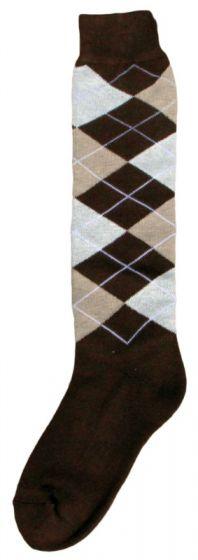Hofman Kniestrümpfe RE 43/46 Dark Brown