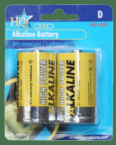 Hofman Batteriegröße D Alkaline 1,5 V