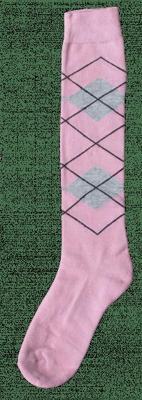 Excellent Kniestrümpfe RE l pink / l grau 43-46