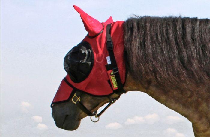 Hofman Horse Armour Knockdown Fliegenmaske One Size (Insektenschutz)