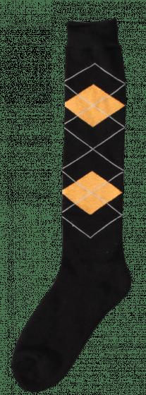 Excellent Kniestrümpfe RE d.brown / orange 43-46