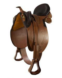PFIFF Westernsattel mit Horn
