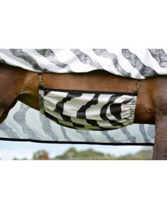 Bucas Buzz-Off Belly Flap Zebra