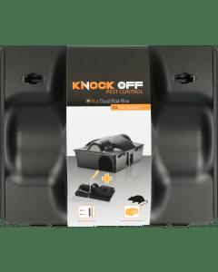 Knock Off Feed Box Ratte / Maus Doppelköder inkl. Rattenklemme