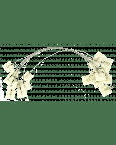 Hofman Klebeanker für beidseitig vorschubstall + Haken