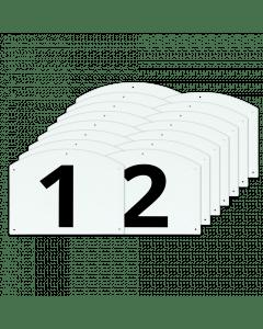 Vplast Sprungzahlen und Buchstaben vollständig anzeigen