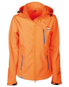 Harry's Horse Softshell Jacke Dutch Orange