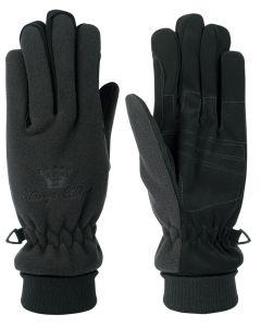 Harry's Horse Handschuhe Fleece atmungsaktiv / Wassertrense schwarz