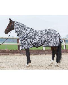Harry's Horse Fliegendecke mit seperatem Halsteil, zebra