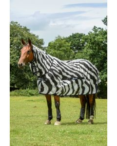 Bucas Buzz-off Zebra Full-Neck