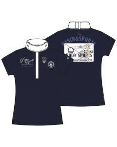 HV Polo Turniershirt Safran