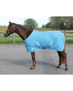 QHP Fleece rug color with cross surcingles
