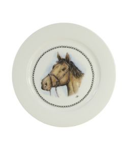 Hofladen Frühstücksteller 21cm Pferd