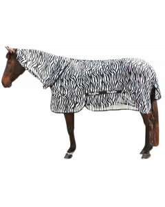 Hofman Fliegendeppich Zebra inkL Halsteil