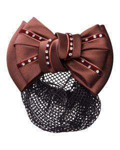 Imperial Riding Haarschleife Luxus mit Haar / Brötchen Netz