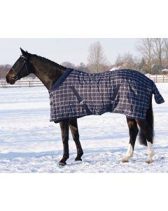 QHP Stalldecke Luxus mit Fleece Kragen