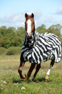 Bucas Buzz-off Zebra Full Neck Big Neck