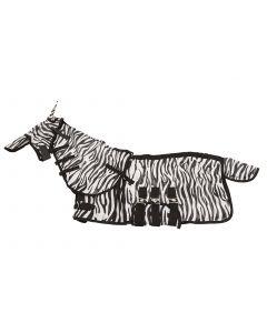 MHS Fliegendecke Zebra mit Neck und Haube