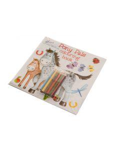 Pferden Farb-Puzzlebuch 'Pony Pals'