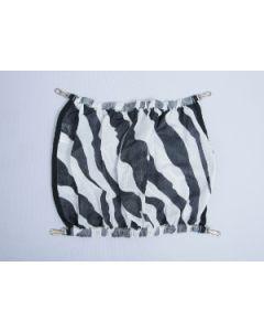 Bucas Buzz-Off Bauchklappe Zebra