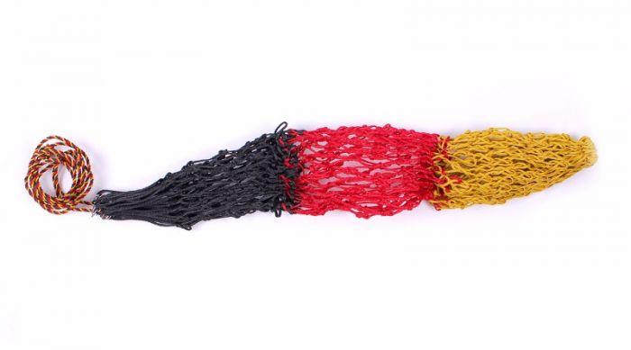 QHP  Heu Netz Triple Geel/rood/zw 120cm
